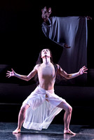 Xiaochuan Xie and Ben Schultz of the Martha Graham Dance Company in The Rite of Spring