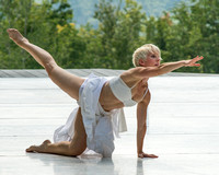 "Kathy Diehl of the Bill Evans Dance Company in ""Impressions of Willow Bay"""