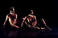 Tadej Brdnik and Maurizio Nardi of the Martha Graham Dance Company